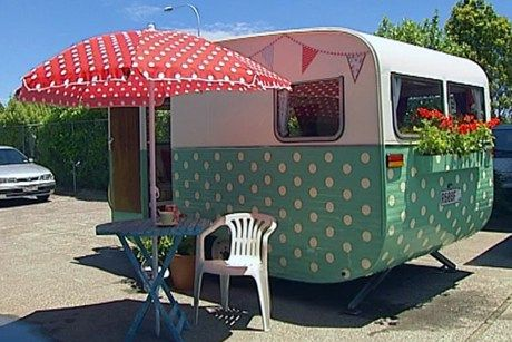 Camper Paint Exterior Remodel And Makeover19