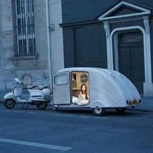 Best Cool Caravans, Camper Vans (RVS) Ideas For Traavel Trailers37