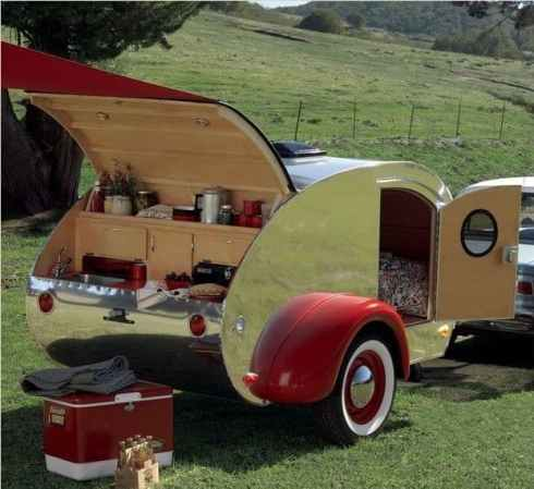 Best Cool Caravans, Camper Vans (RVS) Ideas For Traavel Trailers54