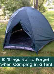 Tent Camping 20