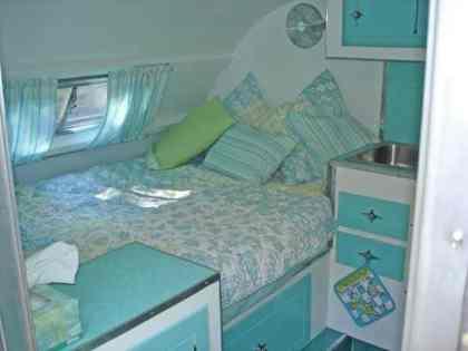 Vintage Camper Interior 10