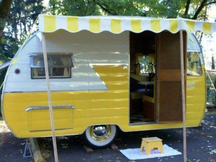 Vintage Camper Interior 24