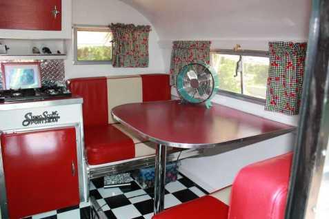 Vintage Camper Interior 32