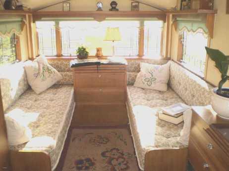 Vintage Camper Interior 36
