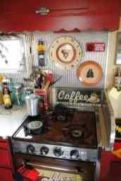 Vintage Camper Interior 49