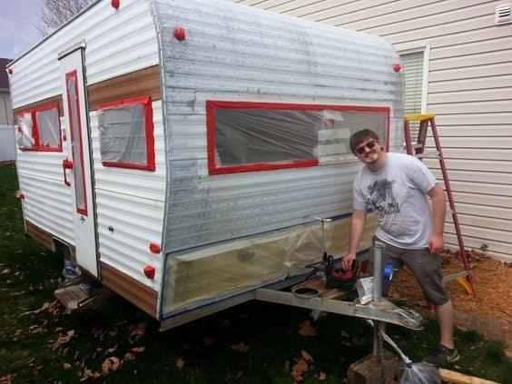 Camper Playhouse 35