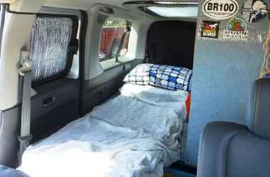 Honda Element Camping 2