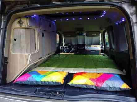 Honda Element Camping 28