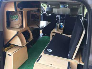 Honda Element Camping 4