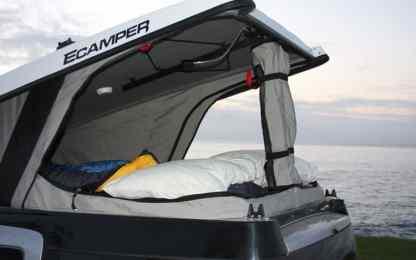Honda Element Camping 41