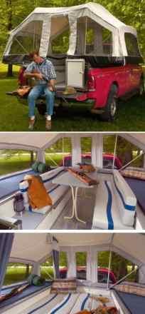 Truck Tent Diy 31