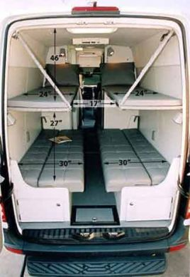 Van Conversion Ideas Layout 19