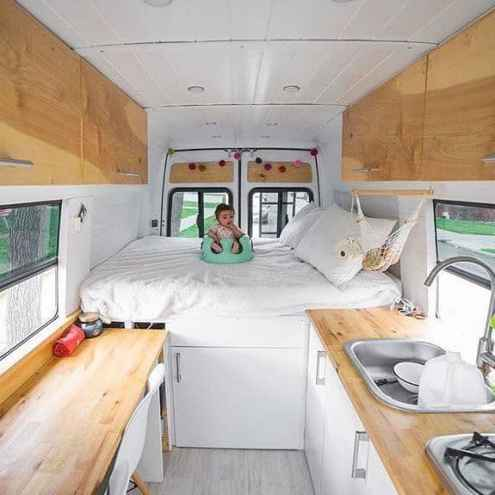 Van Conversion Ideas Layout 44