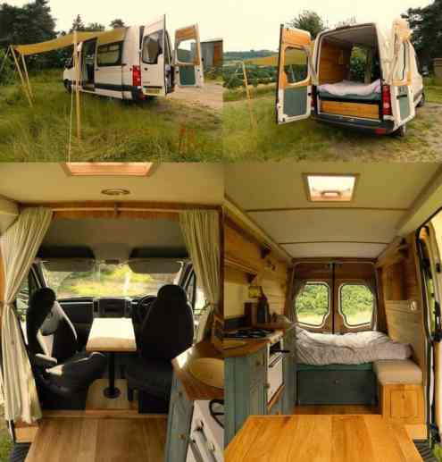 Van Conversion Ideas Layout 45