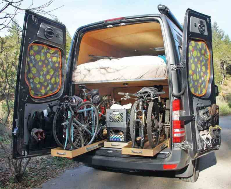 Van Conversion Ideas Layout 5