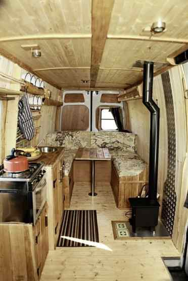 Van Conversion Ideas Layout 52