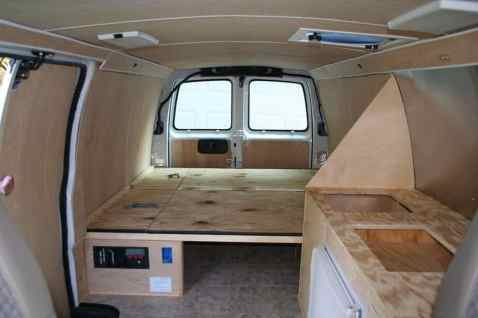 Van Conversion Ideas Layout 54
