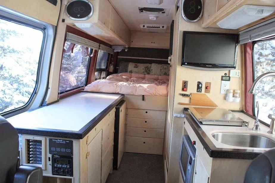 High Quality 24 Best Sprinter Van Conversion Interiors