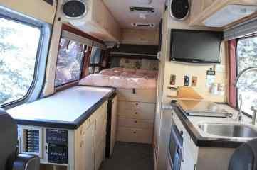 Sprinter Van Conversion Interiors 1