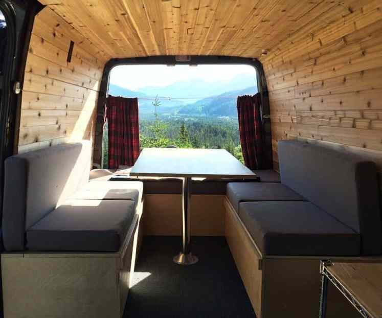 Sprinter Van Conversion Interiors 20