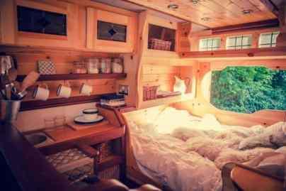 Camper Bedroom 1