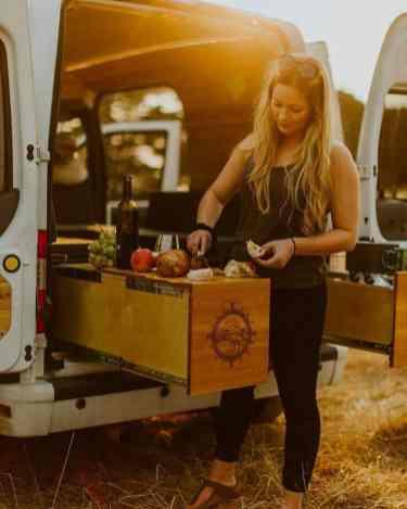 Camper Kitchen Organization 12