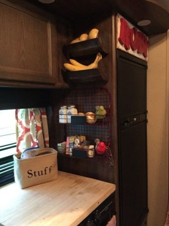 Camper Kitchen Organization 20