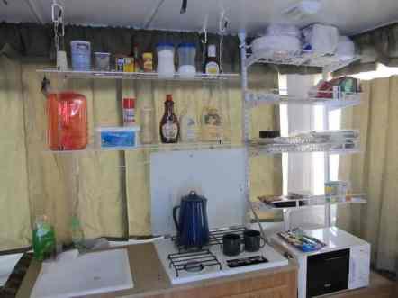 Camper Kitchen Organization 3