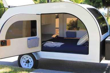 Homemade Camper Trailer Tiny Houses 1
