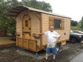 Homemade Camper Trailer Tiny Houses 17
