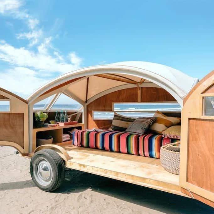 Homemade Camper Trailer Tiny Houses 22