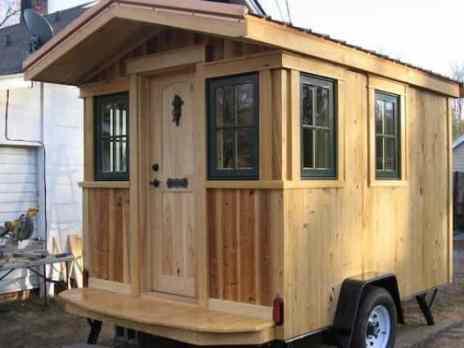 Homemade Camper Trailer Tiny Houses 23