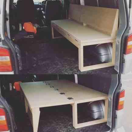 Camper Bed Ideas 13