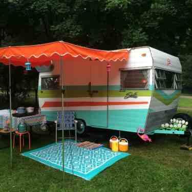 Shasta Camper Remodel 6