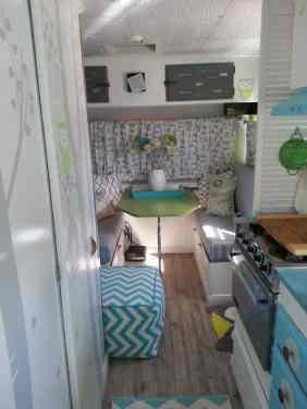 Shasta Camper Remodel 7