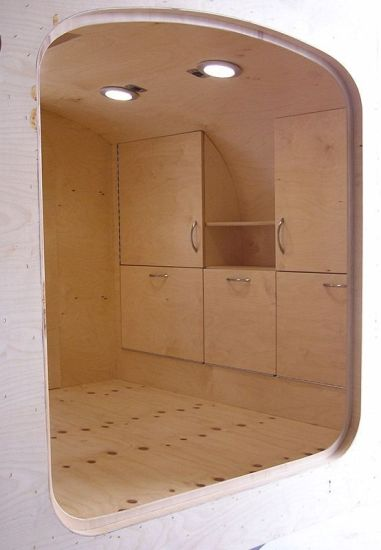 Teardrop Trailer Interior 14