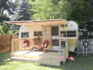 Travel Trailer Living 20