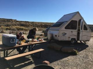 Dry Camping On Motorhome