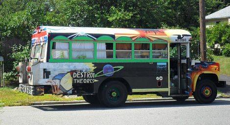 School Bus Conversion RV