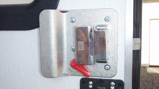 Motorhome With Door Alarm System