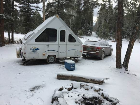 Winter RV Roof Maintenance