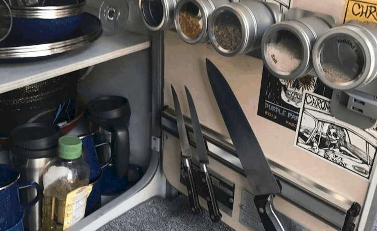 Camper Storage Ideas
