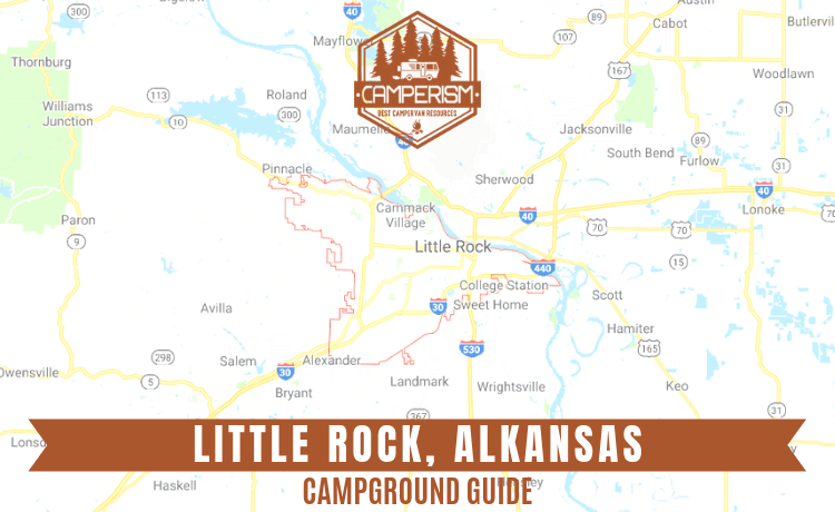Campgrounds in Little Rock Alkansas