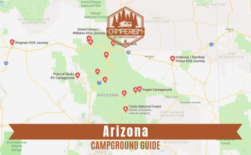 Best camping spots in Arizona