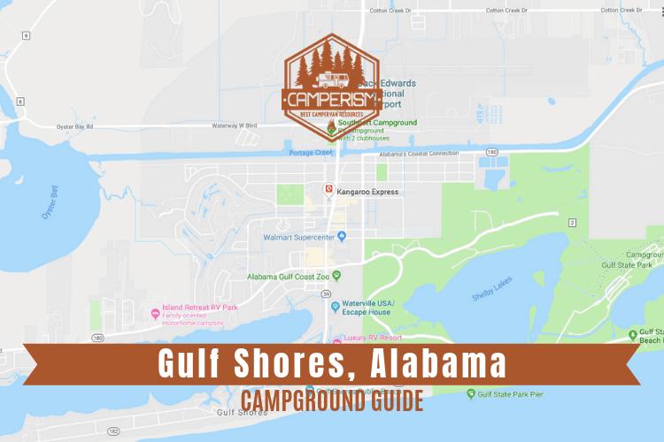 Campground in Gulf Shores Alabama