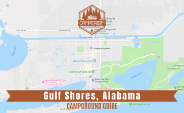 Campground in Gulf Shores Alabama