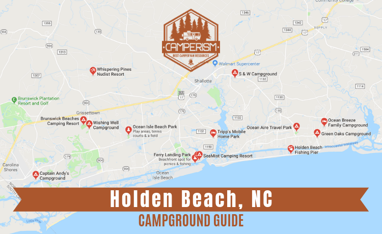 Campgrounds in Holden Beach NC