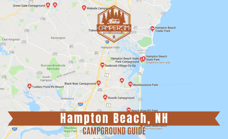 Campgrounds near Hampton Beach NH
