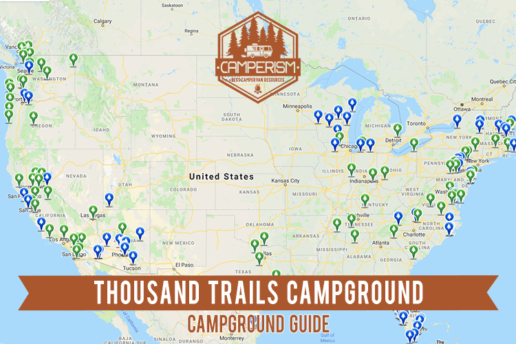 Thousand Trails Campground: Is it Worth it? | Camperism on coachella valley map, palm springs map, echo lakes trail map, echo ridge trail map, seaway wine trail map,