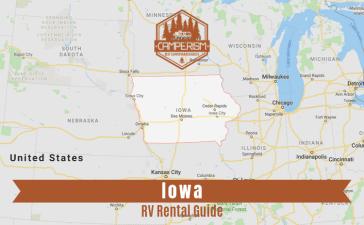 RV rental in Iowa